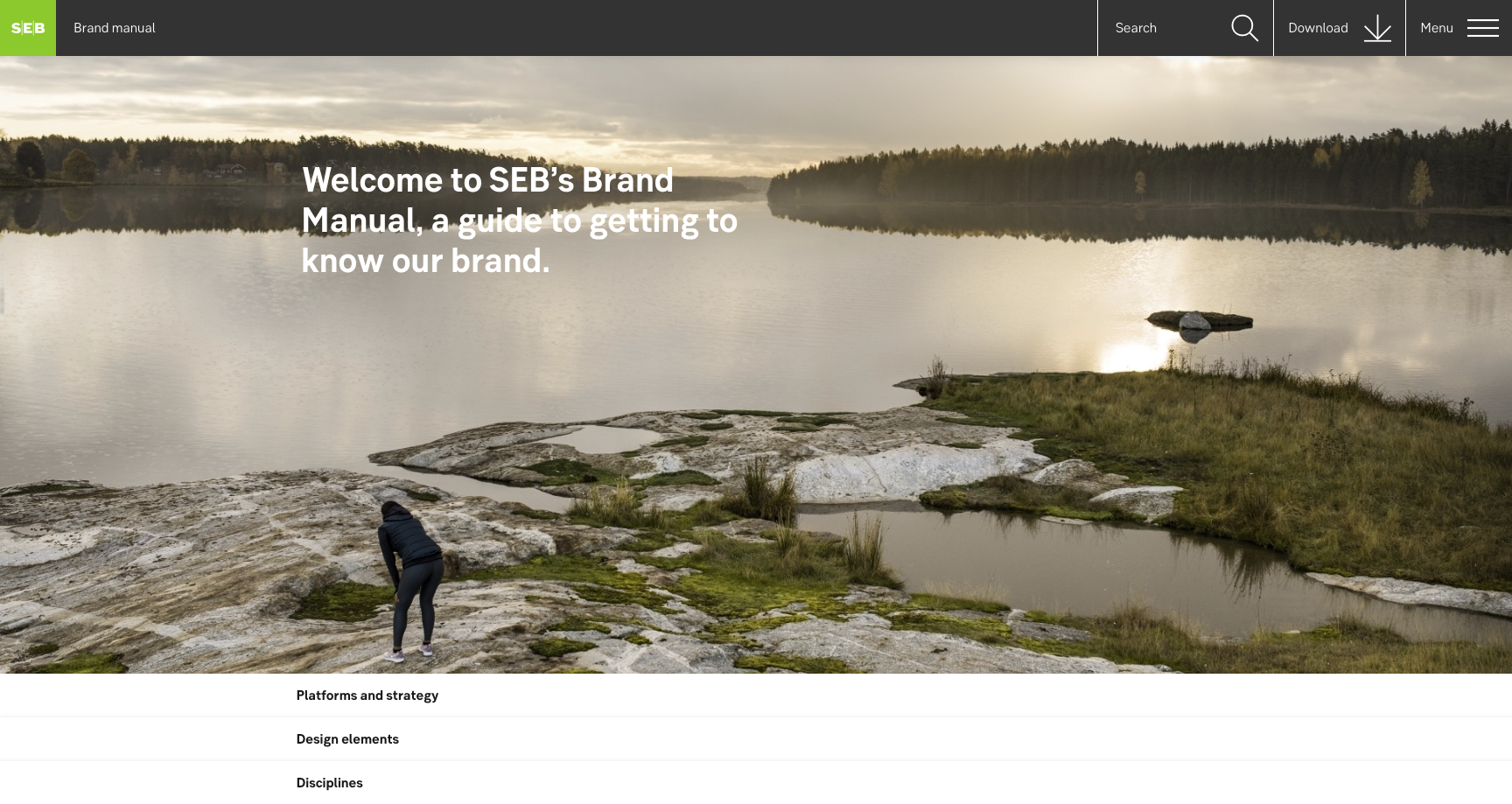 "<img src=""SEB-brand-manual.png"" alt=""SEB's homepage with girl running and lake"">"